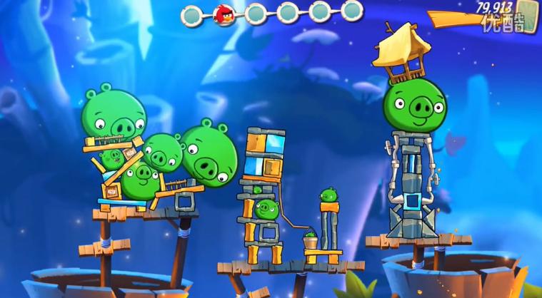 愤怒的小鸟2-游戏玩法预告