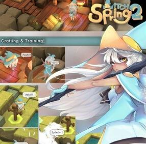 RPG游戏《魔女之泉2》宣传片抢先看