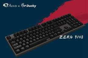 Akko X Ducky发布Zero 3108金砂黑机械键盘