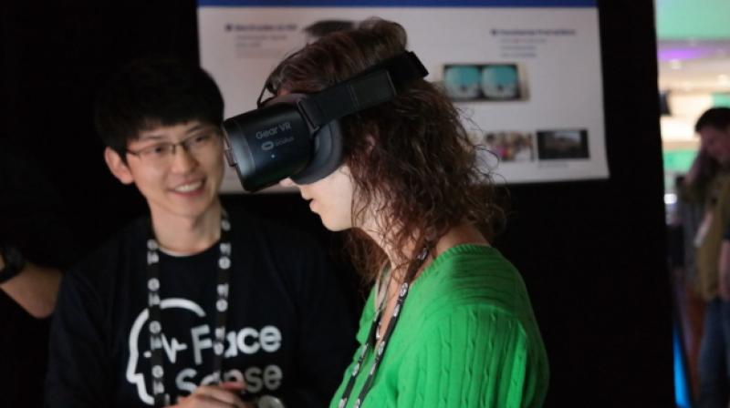 三星FaceSense能够识别VR用户表情