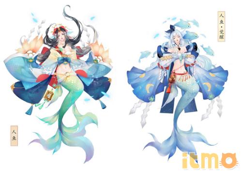 海洋元素服装设计手绘