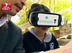 IrisVision通过VR技术帮助视觉障碍患者