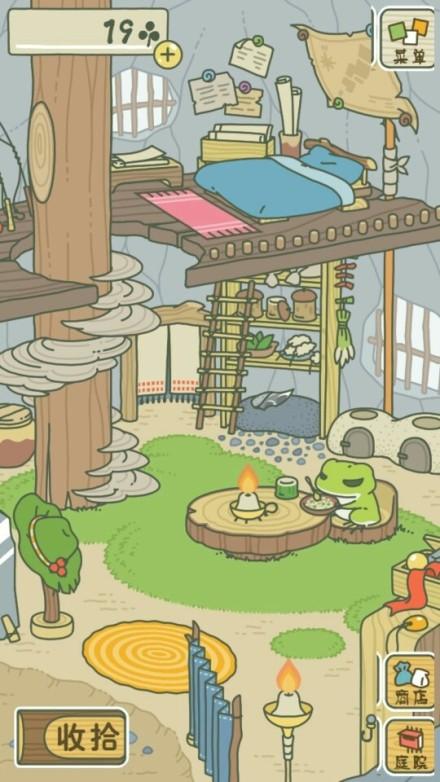 旅行青蛙桌子放什么东西 青蛙包里物品怎么装