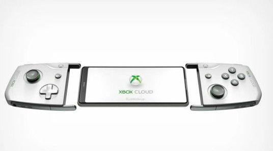 微软云游戏手柄概念图 简约雅致、手机即刻变掌机