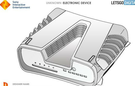 PS5难道长这样? 索尼新硬件专利曝光、造型别致