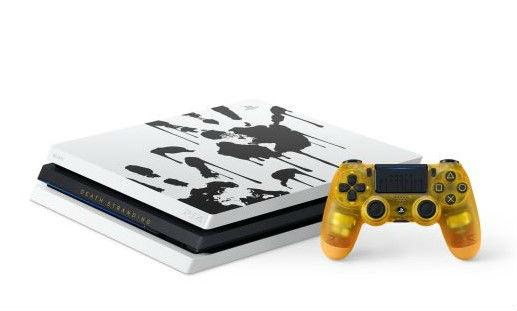 死亡搁浅限定版PS4 Pro预购 金色透视手柄够风骚