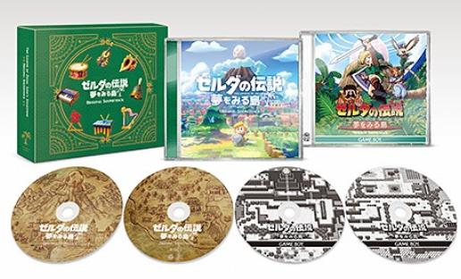 《塞尔达传说:织梦岛》原声CD集上架 收录全205曲 3月18日正式发售