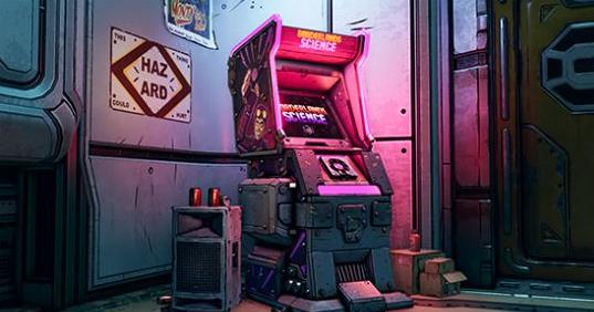"""《无主之地3》新电玩街机""""无主之地科学""""宣传片 完成拼图赢丰厚奖励"""