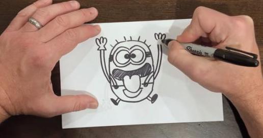 《小黃人2》導演教你畫小黃人 兩個細節要注意