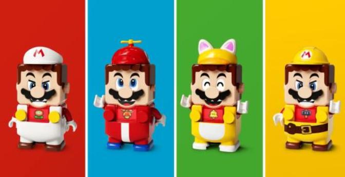 """乐高玩具""""马里奥套装""""宣传片 展示特殊外观和全新玩法"""