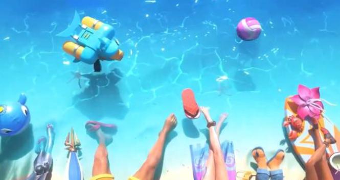 《英雄聯盟》2020泳池派對預熱預告 清涼水邊看腿識人?