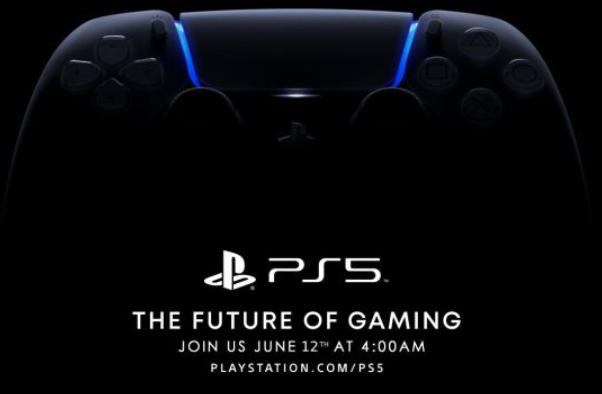 索尼PS5发布会时间重新确定:6月12日凌晨4点