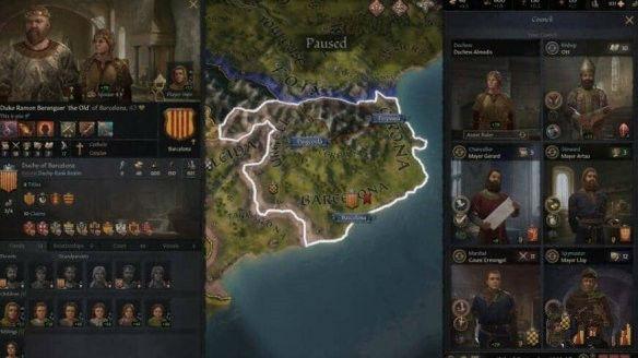 《王国风云3》领地分封教程
